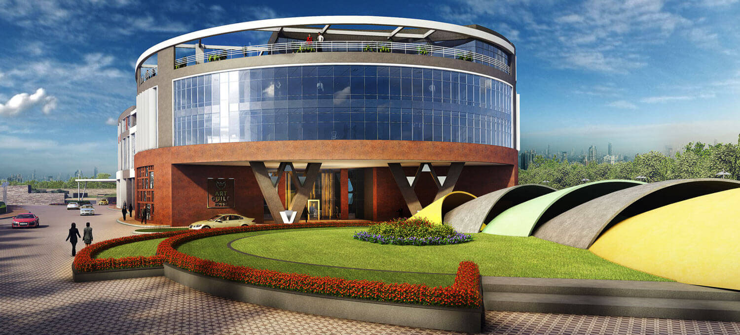 Image of The Art Guild House - Largest commercial retail sectors in Mumbai